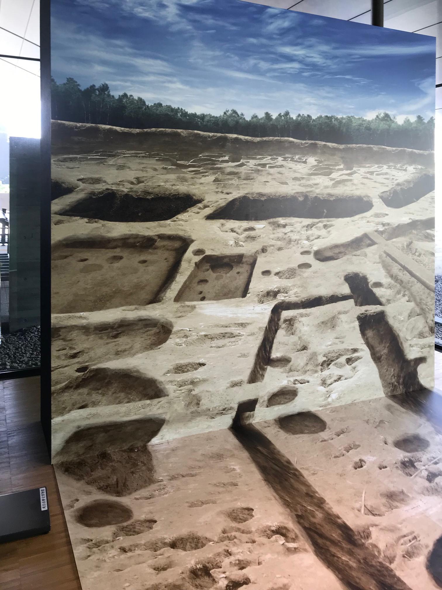 企画展「発掘された中条遺跡展」